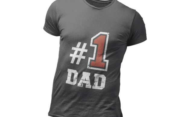 Number One Dad Tee Shirt