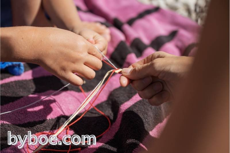 How To Tie A Secure Knot For A Bracelet